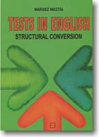 Тесты по английскому языку. Конверсия структур