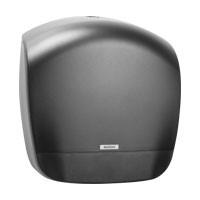 Диспенсер для туалетной бумаги в рулонах черный