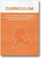 Типова програма з німецької мови для мовних вузів.Curriculum