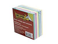 Блоки бумажные Helper 1008 8*8*4 400л цветн. н/кл