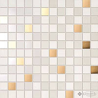 Ceramiche Supergres мозаика Ceramiche Supergres Petali 30,5x30,5 fresia/oro