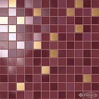 Ceramiche Supergres мозаика Ceramiche Supergres Petali 30,5x30,5 ibisco/oro