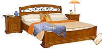 Кровать 1600 №3 /с ковкой/
