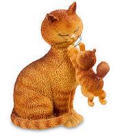 "Статуэтка кошки с котенком ""Счастливое время"" Parastone DUB 35"