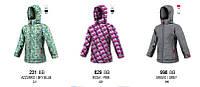 Удлиненная зимняя куртка для девочки BRUGI