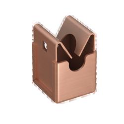 Ниро-Клип крепление.для проволоки ø 8 мм / Тип А