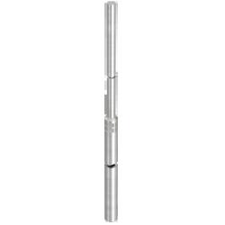 Трубчатый молниеприемник длинной 2 м. алюминиевый, пр-ва Германия. Гарантия 3 года.