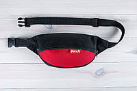 Сумка на пояс Punch Black-Red 1.8L, фото 1