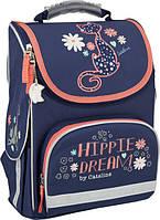 Рюкзак школьный каркасный Kite 501 Hippie Dream для девочек