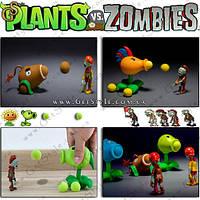 """Боевые растения из Plants vs. Zombies - """"Shooting Plants"""""""