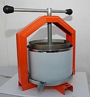 Пресс для сока 6 л нержавейка с кожухом, фото 1