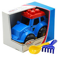 Трактор Кузнечик №4 Colorplast 0350