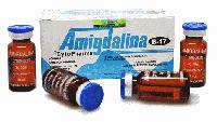 Amigdalina B17, витамин B17 против рака, Cyto Pharma, amigdalina vitamin B17, 3gr, 10 ампул