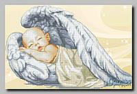 """Схема для вышивки бисером """"Ангелочек"""""""