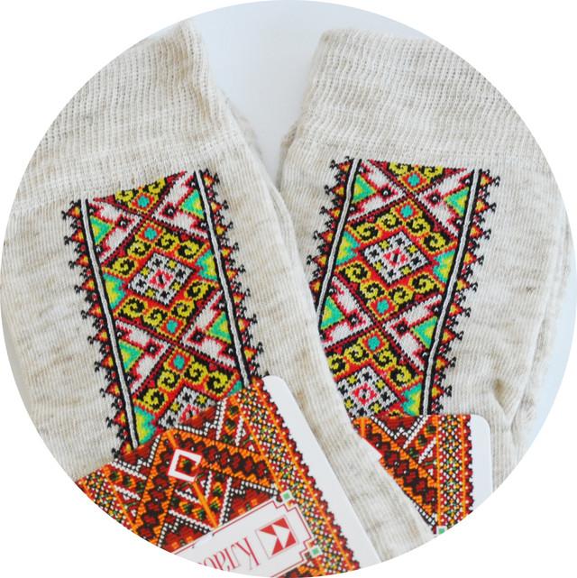 мужские носки-вышиванки