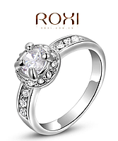 """Кольцо """" Платина ROXI """" 16,5 р"""
