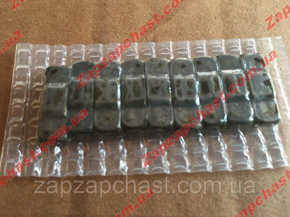 Комплект сухарей синхронизатора (гробики) Заз 1102- 1103 таврия славута уп.(9 шт.)завод
