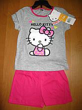 Дитяча літня піжама для дівчинки Кітті, Hello Kitty Sun City, 3, 4 років