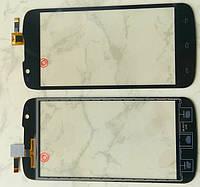 Fly IQ4413 Quad Evi Chic 3 сенсорний екран, тачскрін чорний