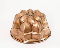 Антикварная форма для выпечки, медь, Германия, фото 1