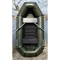 """Надувная лодка из ПВХ """"Язь"""" Лисичанка, двухместная с твердым полом, фото 1"""