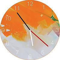 Часы настенные Оранжевая Фантазия