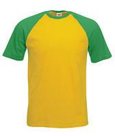 Футболка хлопковая -61-026-AM сонечно-желтый