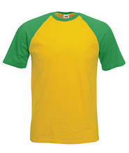 Футболка бавовняна -61-026-AM сонечно-жовтий