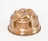 Старенька мідна форма для випічки, мідь, Німеччина, 15 см, фото 5