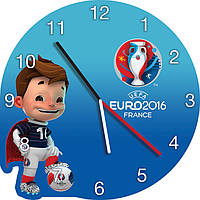 Часы настенные Евро 2016 Франция