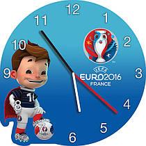 Часы настенные Евро 2016 Франция. Футбол