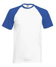 Футболка бавовняна - 61-026-AW біла