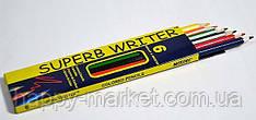 "Цветные карандаши Marco ""SUPERB WRITER"", 6 цветов 4100-06CB"