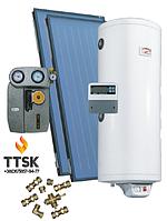 Гелиосистема Roda для обеспечения горячей водой семьи из 8 человек