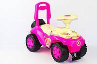 Машинка - толокар Ориоша 198 Орион, ярко розовая