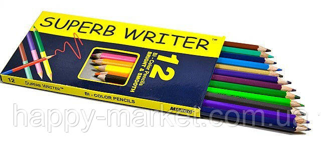 "Цветные карандаши Marco ""SUPERB WRITER"", 12 цветов 4100-12CB"