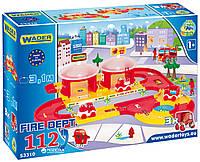 Парковка Пожарная команда Wader 53310, фото 1