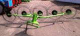 Грабли-ворошилки , 5-ти колесные (Турция), фото 2