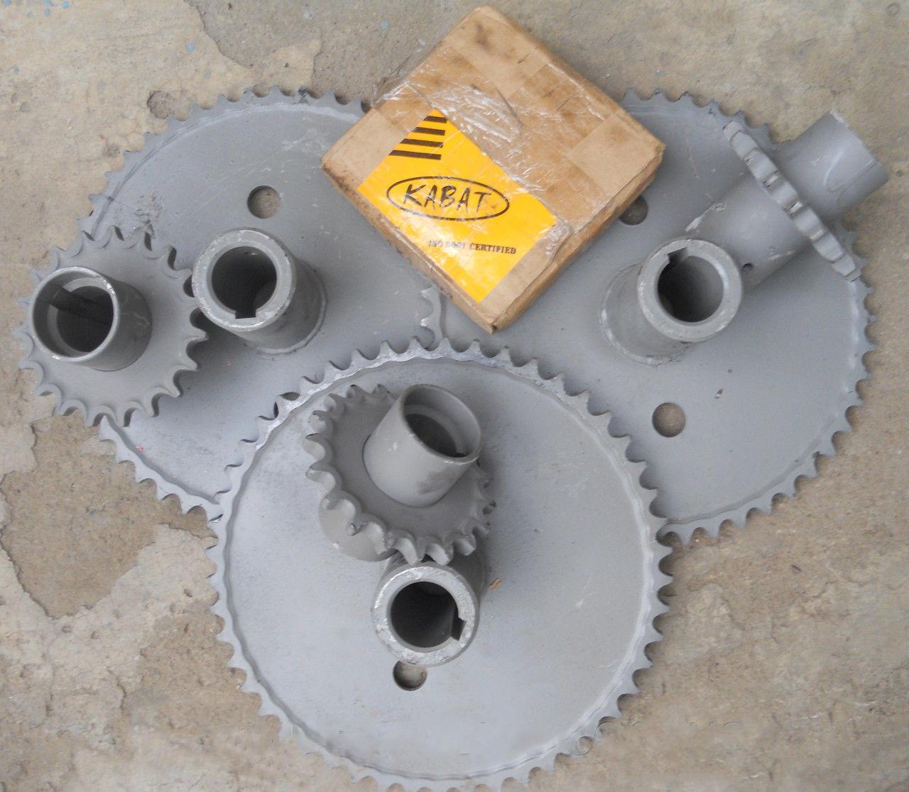 Комплект зірочок для зменшення обертів барабана ДОН-1500