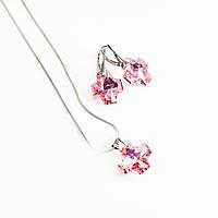 Наборы сваровски розовый