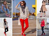 Мода и спорт, или с чем носить кроссовки в этом сезоне?