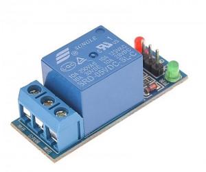 Arduino релейный модуль 1 канал 5В