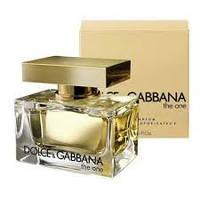 Духи  Dolce&Gabbana The One 75 ml(дольче габбана)
