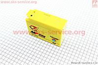 Аккумулятор гелевый таблетка на скутер Yamaha/Suzuki 113/40/87мм