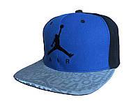 Синяя с черным кепка Jordan Air