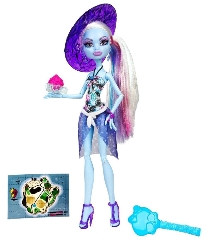 Monster High Эбби Побережье Черепа Skull Shores Abbey Bominable