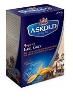 Чай черный Askold Earl Grey листовой с ароматом бергамота 100 г