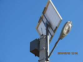 Автономный инвертор для  освещения улицы 3