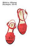 Червоні босоніжки, фото 4