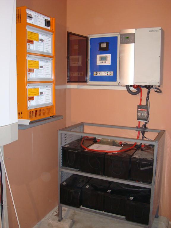 Гибридный инвертор 6 кВт+Генератор 10 кВт